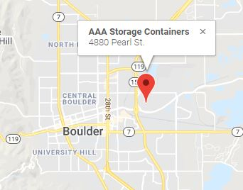 AAA Storage Containers Boulder CO